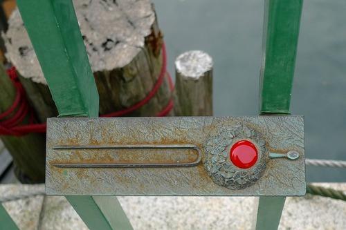 柳橋の欄干